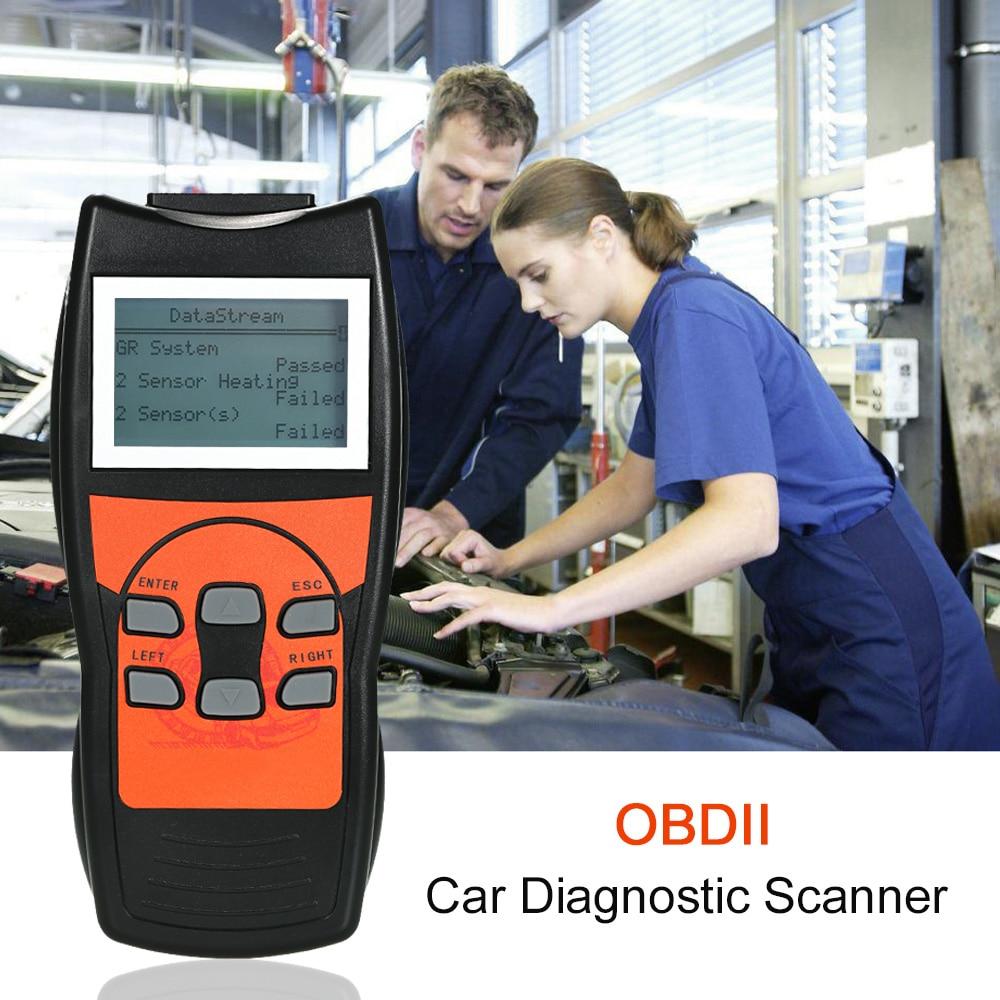 Car Diagnostic Scanner Auto Engine Fault Code Reader Tool with LCD Screen OBD2 for Audi VW Skoda Car Multi-languages u280 1 5 lcd vw audi car diagnostic code reader memo scanner