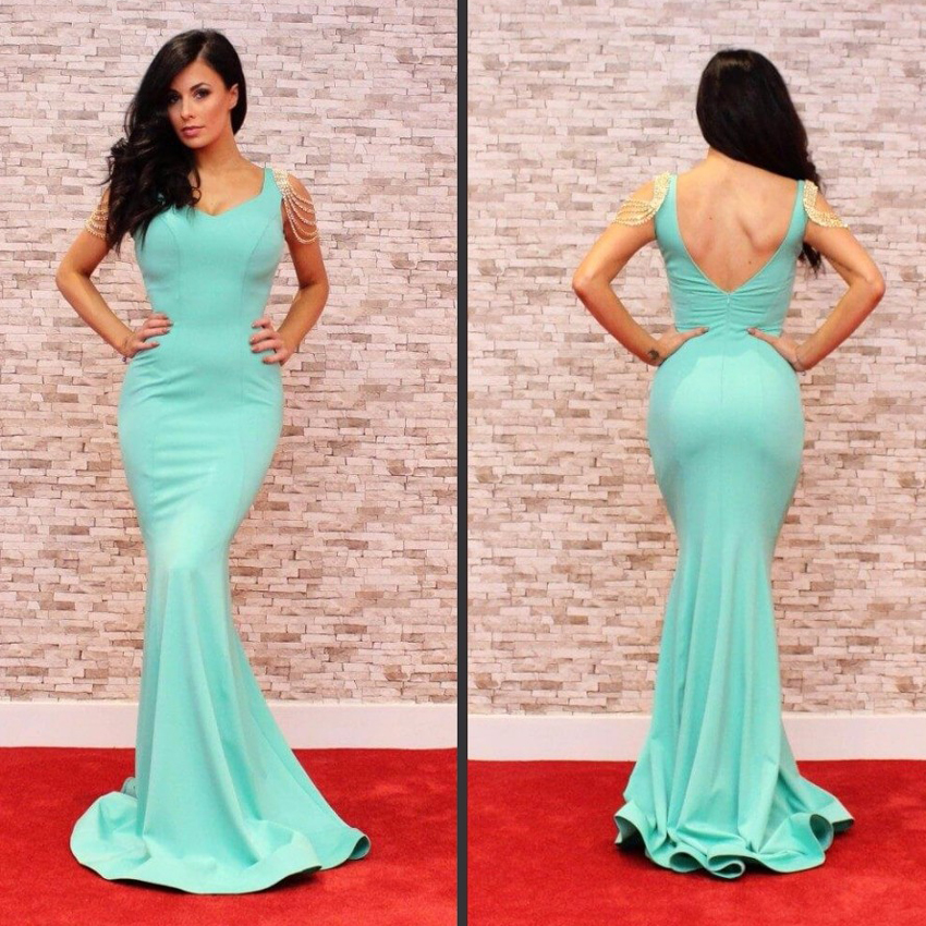 Special Occasion Dresses Women Celebrity Gowns Cheap Evening Gown ...