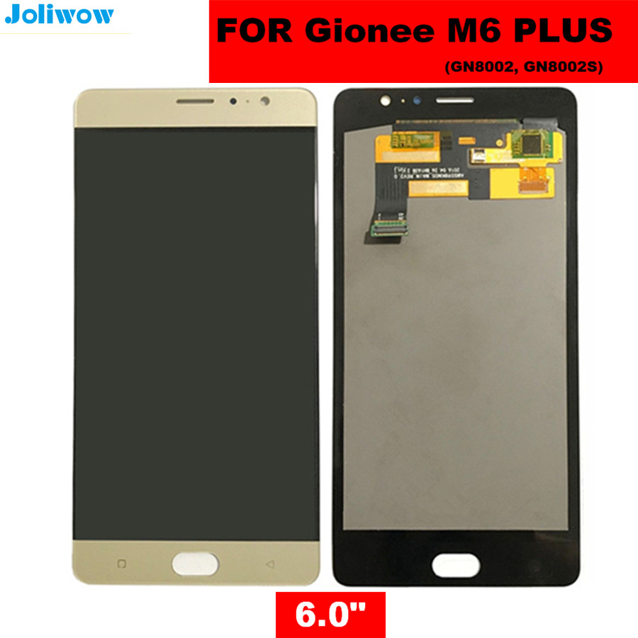 For Gionee M6PLUS GN8002S GN8002 LCD Display+Touch Screen Assembly Replacement Accessories for phone Gionee M6 PLUS LCD ScreenFor Gionee M6PLUS GN8002S GN8002 LCD Display+Touch Screen Assembly Replacement Accessories for phone Gionee M6 PLUS LCD Screen