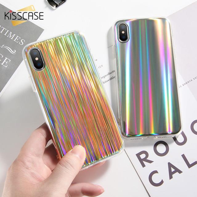 Obal z TPU pre iPhone X s kovovým efektom