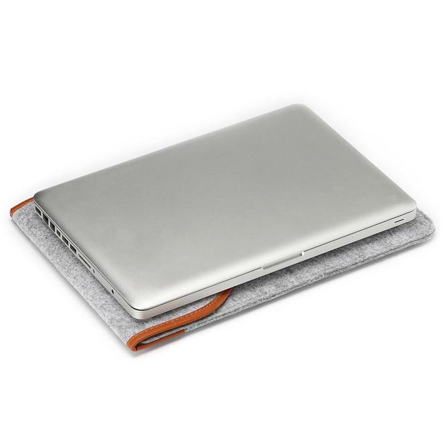 Pokrowiec na laptopa filcowy MacBook dwa kolory