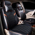 PU leather seat covers for Mazda Tribute car seats cover for cars cushion interior accessories headpillow benches split covers