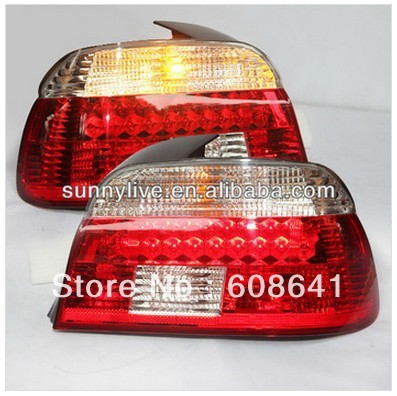 E39 5 Series 520 525 528 530 535 540 For BMW LED Tail Lamp 1995-2003 Year Red White Color