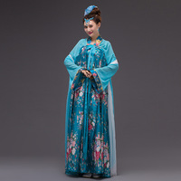 Plus Size Women Chinese Traditional Costume Chinese Princess Party Cosplay Dress Chinese Folk Clothing For Stage