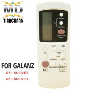 Image 1 - New GZ 1002B E3 For Galanz Air Conditioner Remote Control GZ1002BE3 GZ 1002B E1 Compatible with GZ 1002A E1 GZ1002BE1 Controle