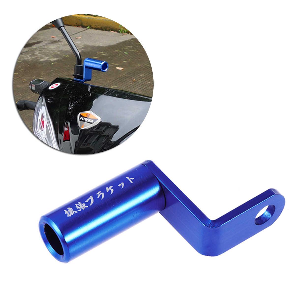 Soporte de extensi/ón para espejo retrovisor para motocicleta Keenso
