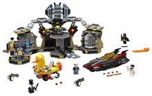 ЛЕПИН Бэтмен Серии Batcave взлома Строительные Блоки Кирпичи Фильм Модель Детей Игрушки Marvel Совместимость Legoe