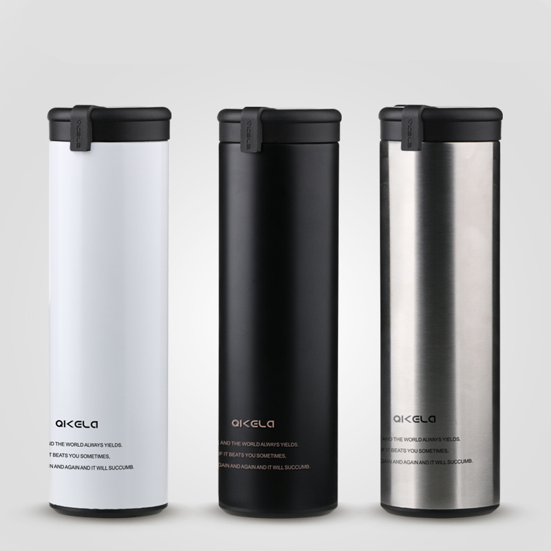 New Water Bottle Coffee Mug Cup Vacuum Flasks Thermos Cup Stainless Steel Thermal Cups Thermocup Insulated Travel Thermos Bottle