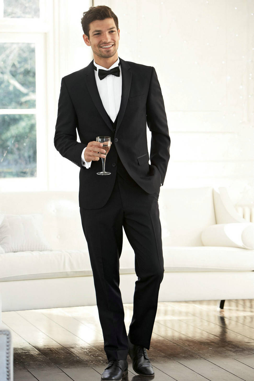 2017 Homme De Costume Pantalon Meilleur Designs Hommes Noir Dernière Silm  Nouveau Manteau bal Costumes Groomsman ... 374eb82a0e8