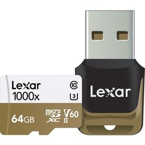 Image 4 - HOT!!! 1000X 150MB/s Lexar 256GB 128GB 64GB 32GB Micro SD SDHC SDXC Card U3 TF Card v60 150MB/s C10 Memory Card With Card Reader