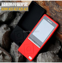 Silicone Gel Skin Case for Sony Walkman NWZ A15 A17 A16 A25 A27HN Rubber Cover Holder Free Shipping