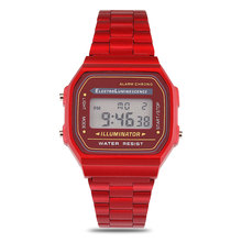 QW Sports Hot Sale Ladies Stop Waterproof Digital Women OEM Sport Watch