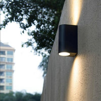 2 7W COB Double LED Outdoor Wall Light Outdoor LED Wall Lamp Outdoor Waterproof IP65