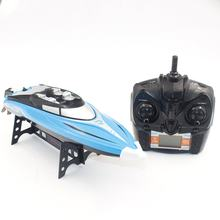 H108 2.4GHz 4CH 25KM/h High Speed Mini Racing RC Boat Speedboat Ship with Water Cooling System Flipped for Kid Model Toys Gift(China)