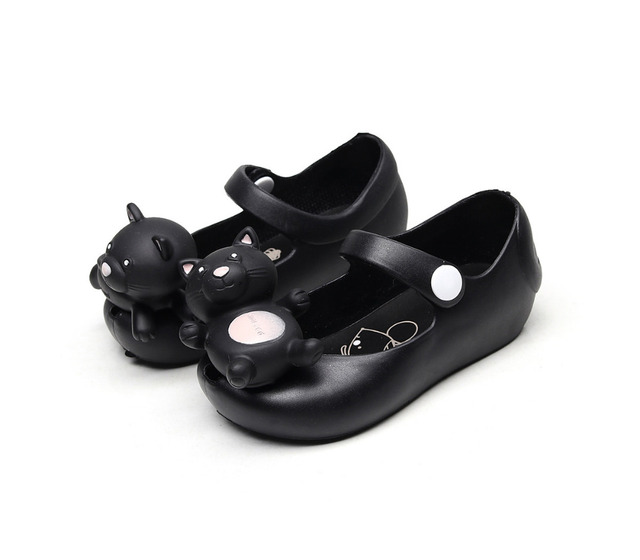 2018 new products lovely Cartoon jelly cold shoes Korean version summer soft bottom girls sandals Super soft and comfortable Girl's Shoes