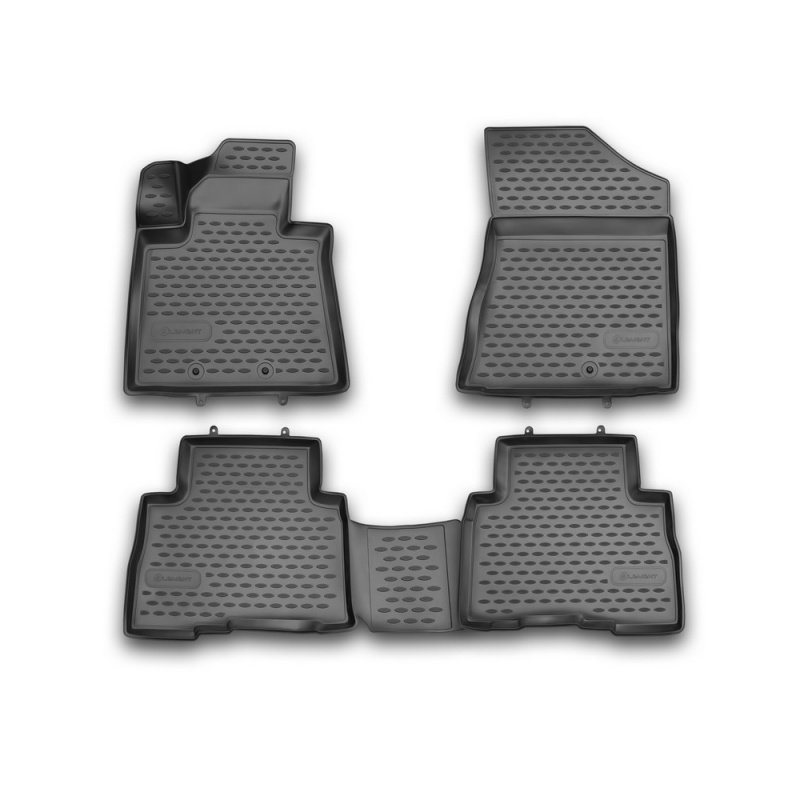 Car Mats 3D salon For KIA Sorento, 2012-2015, 4 PCs (polyurethane) vland car head lamp for sonata led headlight 2012 2015 with angel eyes hid h7 bi xenon plug and play