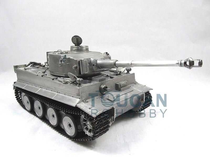 100% Metal Mato 1/16 Tiger I RTR RC Tank BB Shooting Pellets Metal Color 1220 все цены