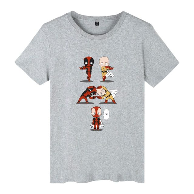 Marvel Deadpool Casual Cool Men/Women Short Sleeve T Shirt