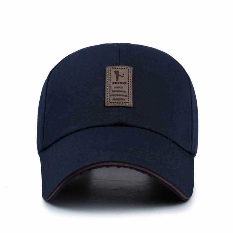 Gorras de béisbol ajustables de verano para hombres gorras de béisbol de algodón para hombres