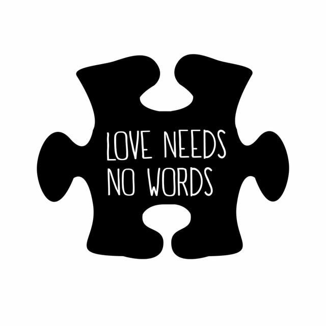 Download Autism Awareness Car Vinyl Decal Sticker Love Needs No ...