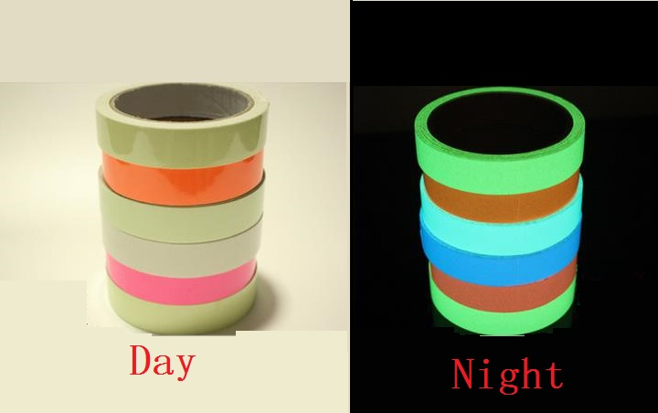 FGHGF 3cm*1M Luminous Tape Self-adhesive Glowing Night /Dark Safety Stage Striking Warning Safety Tape 5ColorFGHGF 3cm*1M Luminous Tape Self-adhesive Glowing Night /Dark Safety Stage Striking Warning Safety Tape 5Color