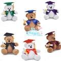 1 pcs 1 #25 cm Dr urso de pelúcia boneca brinquedos de pelúcia presente de Formatura presente de aniversário lembrança