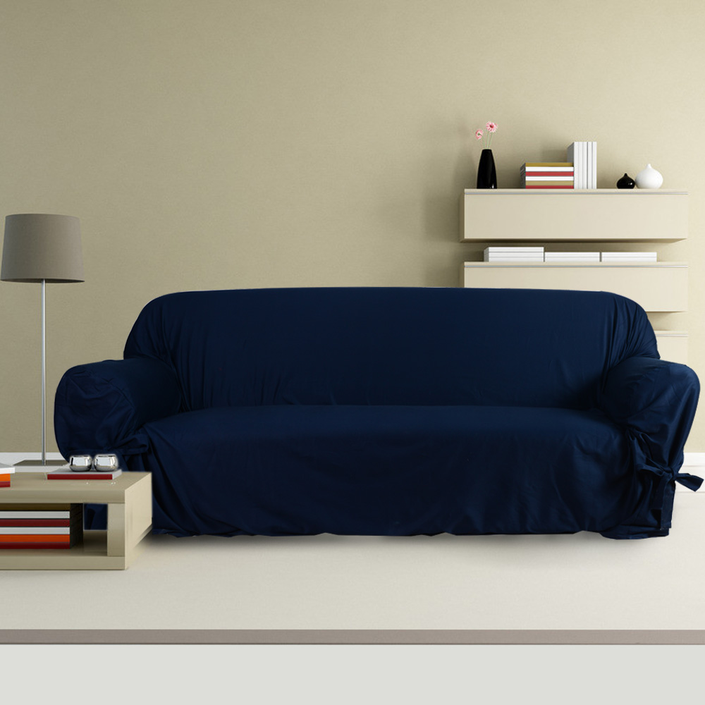 Navy Blue Sofa Cover Best Sofa Decoration And Craft 2017