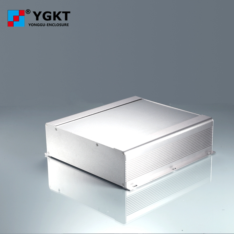 250-73.5-250 mm (W-H-L)oem pcb extruded Aluminum Enclosure/Inverter controller Extruded Aluminium Box/metal case