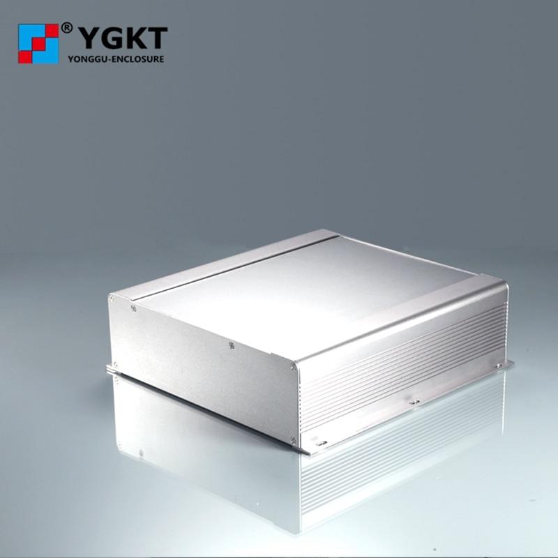 250-73.5-250 mm (W-H-L)oem pcb extruded Aluminum Enclosure/Inverter controller Extruded Aluminium Box/metal case 1 piece free shipping aluminum enclosure project box extruded aluminum enclosures 46 h x66 w x100 l mm