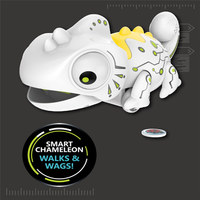 Smart chameleon Robotic Can Eat Things Function Cute Toy Electronic Pets Animaux Mascotas Animais electronicas gift for kid 20