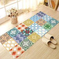 Creative 3D Skid Proof Floor Stickers Moroccan Decor Pattern For Decorative Kids Room Home Decoration Large