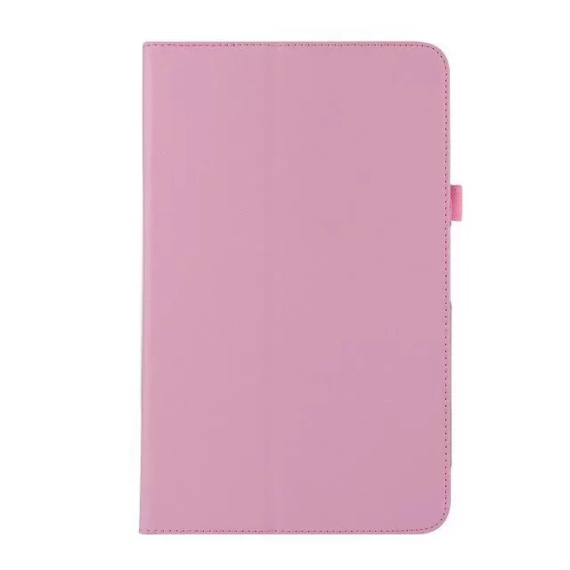 For Samsung Galaxy Tab S3 T820 T825 Case Litchi Grain Dual Folding Folio Cover Stand PU Leather Ultra Slim Protector Tablet
