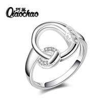 wedding rings jewelry For Women vintage Ring luxury Bijoux zirconia Accessories Engagement R112