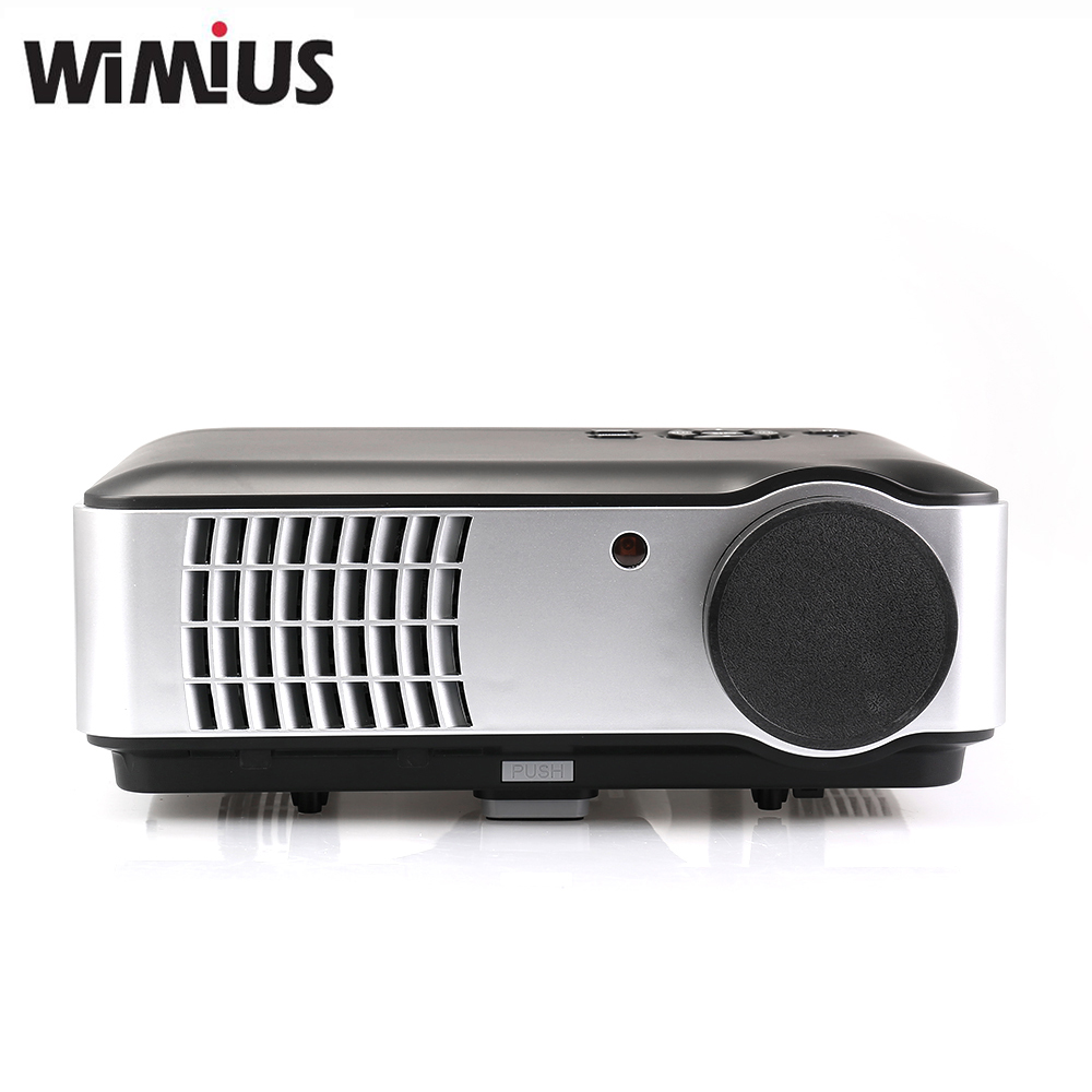 Led Projector 3500 Lumens Beamer 1280 800 Lcd Projector Tv: Wimius Projecto Full HD 1080P 2800 Lumens 1280*800 Home