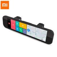 Xiaomi 70 минут заднего вида Камера Видеорегистраторы для автомобилей регистратор Wi Fi Bluetooth ADAS Smart Зеркало заднего вида 160 градусов датчика G gps F1.
