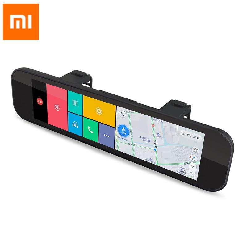Xiaomi 70 minutes Rear View Camera Car DVR registrar WiFi Bluetooth ADAS Smart Rearview Mirror 160 degree G sensor GPS F1.8