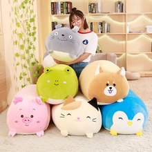 MIAOOWA 1PC 30CM/60CM Cute Pig/Totoro/Bear/Cat/Frog/Penguin Animal Plush Doll Super Soft Pillow San-X Corner Toy Kids Baby Gifts(China)