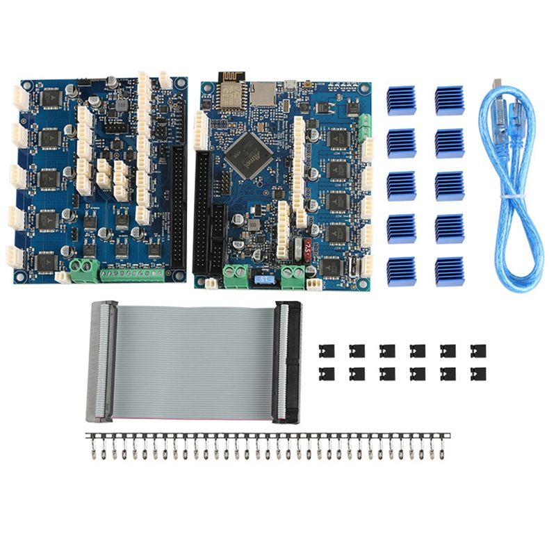 3D Printer Accessories Duet 2 1.04 Motherboard Control Board + Duet X5 Expansion Board Cnc Engraving Master image