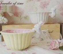Cartoon cute ceramic salad bowl White Rabbit ice cream bowl Dessert Bowl Ceramics Kitchen Tools