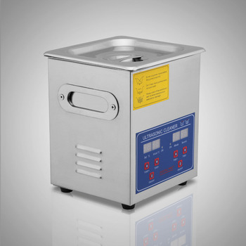 Professional Stainless Steel 2L Ultrasonic Cleaner Comemerical Use Heater Timer Bracket Jewelry