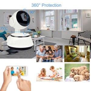 Image 5 - Najnowszy 1080P aparat IP HD WiFi bezprzewodowy automatyczne śledzenie niania elektroniczna Baby Monitor Night Vision bezpieczeństwo w domu kamery monitoringu CCTV sieci Mini kamera