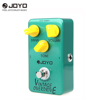 Joyo JF 01 Vintage Overdrive Guitar Effect Pedal True Bypass