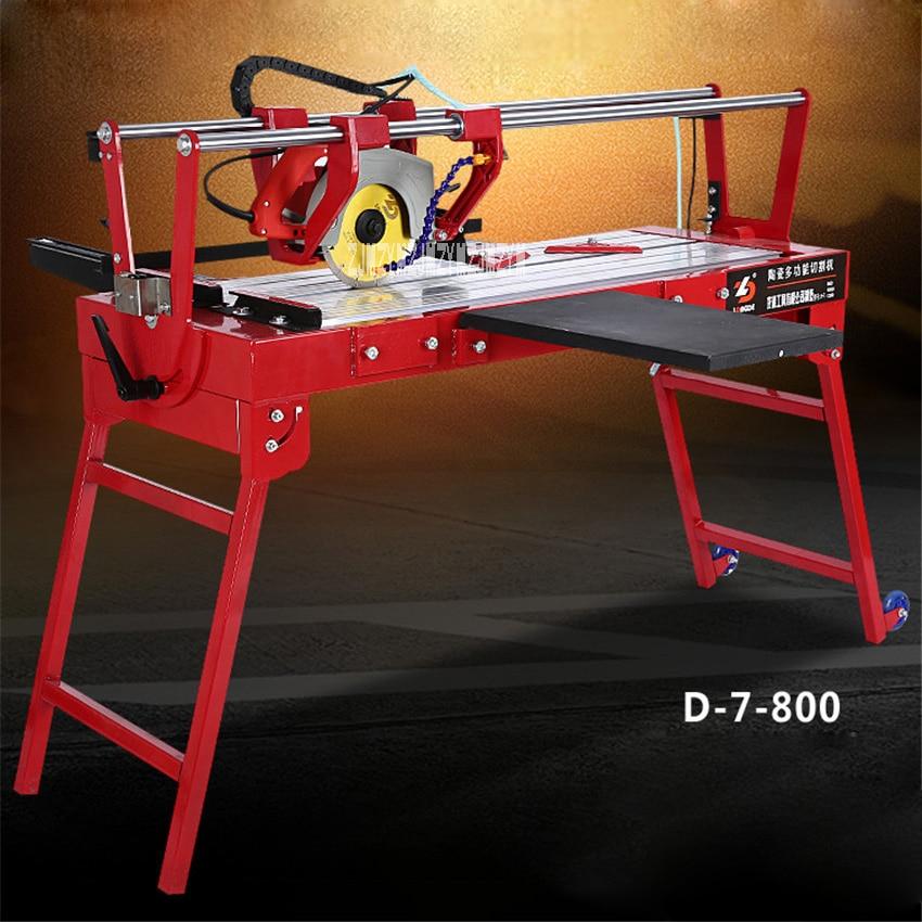 Découpeuse électrique multifonctionnelle de tuile D-7-800 découpeuse de tuile 220 V 2300 W, longueur de coupe de 800mm, profondeur de coupe de 40mm