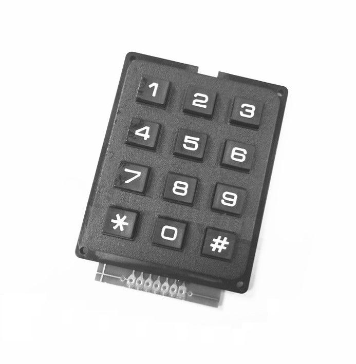 1PCS 4 x 3 Matrix Array 12 Keys 4*3 Switch Keypad Keyboard Module for Arduino