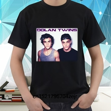 8236c0772 Men T shirt New The Dolan Twins Short Sleeve Black Casual Funny Tees funny t -