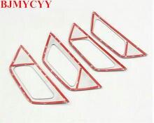 Bjmycyy стайлинга автомобилей Нержавеющаясталь внутренняя дверные ручки чаши Крышка отделка интерьера подходит для 2017 Peugeot 3008 Интимные аксессуары