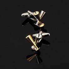 XK137 High quality men's shirts Cufflinks goblet shape Cufflinks brand of men's clothing accessories