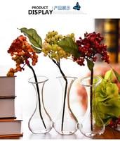 O.RoseLif Brand Handmade Hand In Hand Clear Glass Terrarium Vase Decoration Home Decoration Vase for wedding decoration