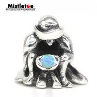 Mistletoe 925 Sterling Silver Prophet Charm Bead Fit European Troll Bracelet Jewelry
