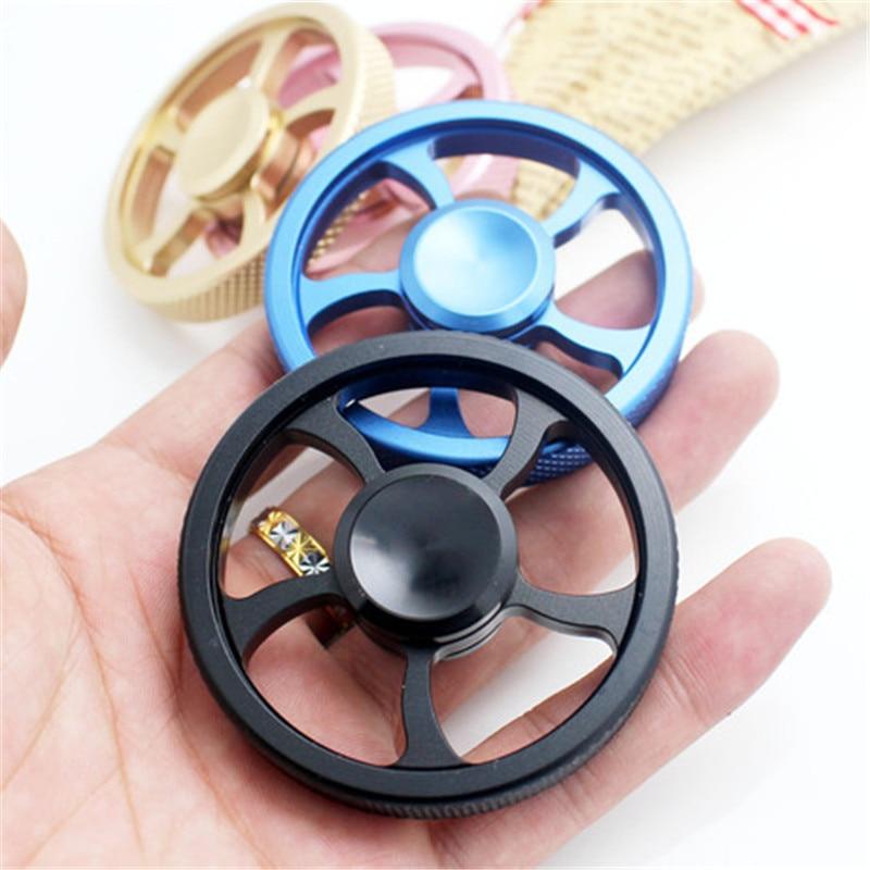 Gyro Finger EDC Gyro  Aluminum Alloy Spiral